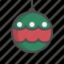 ball, christmas, decorate, decoration, ornament, xmas