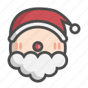 avatar, ball, christmas, claus, santa, santa claus, xmas icon