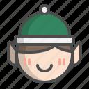 avatar, christmas, elf, gift, santa, xmas