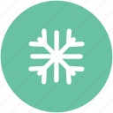 christmas snowflake, ice flake, snow falling, snowflake, snowflake ornament, winter decoration icon