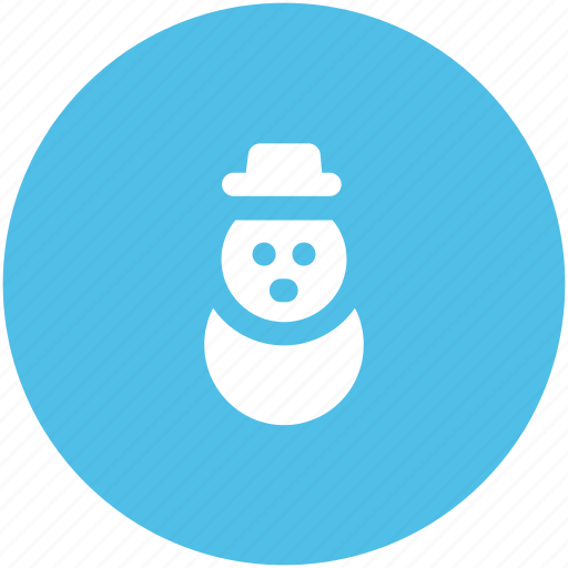 christmas, christmas snowman, cold, snowman, winter, xmas icon