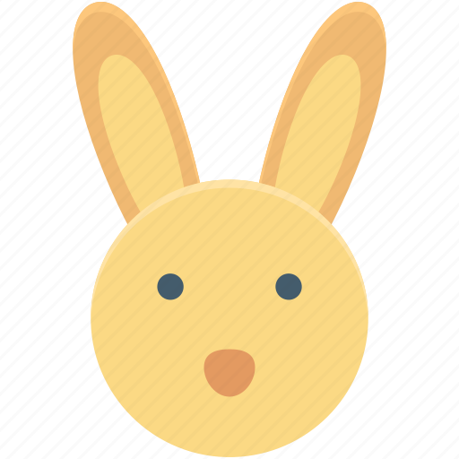 animal, bunny, bunny face, easter bunny, rabbit face icon