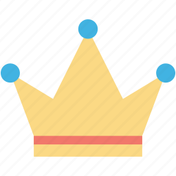 crown, headgear, nobility, royal crown, star crown icon