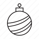bell, celebrate, christmas, christmas ball, party, xmas icon