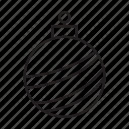 bell, celebrate, christmas, christmas ball, party, xmas icon