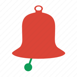 alert, attention, bell, christmas, decoration, warning, winter icon