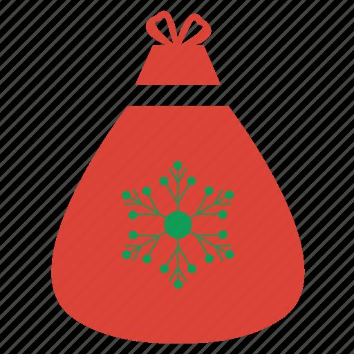 bag, christmas, gift, shopping, snow, winner, winter icon
