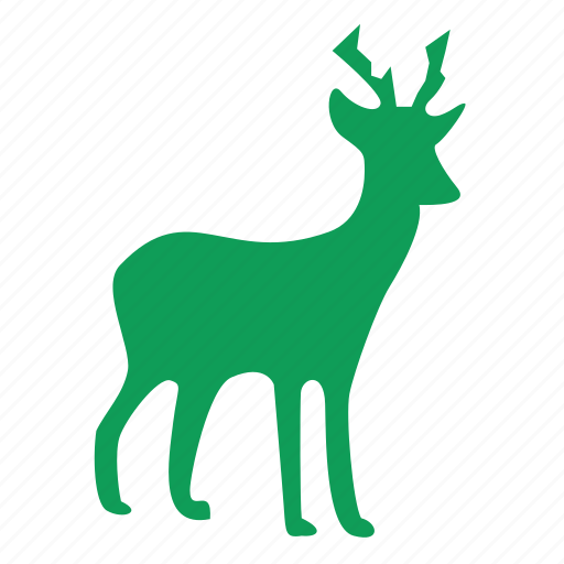 christmas, deer, reindeer, winner, winter icon