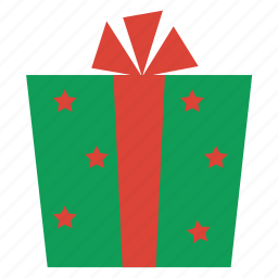 christmas, gift, present, prize, winner, winter icon