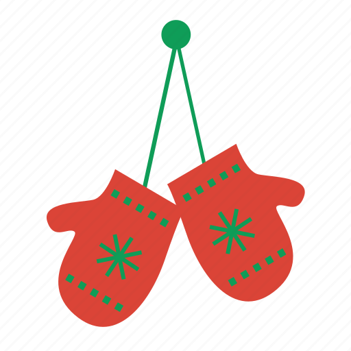 christmas, mittens, prize, snow, weather, winner, winter icon