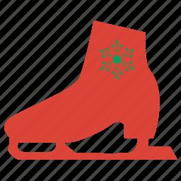 prize, skates, snow, weather, winner, winter icon