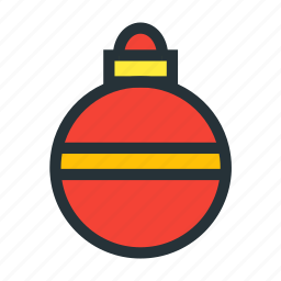 ball, christmas, december, decoration, xmas icon