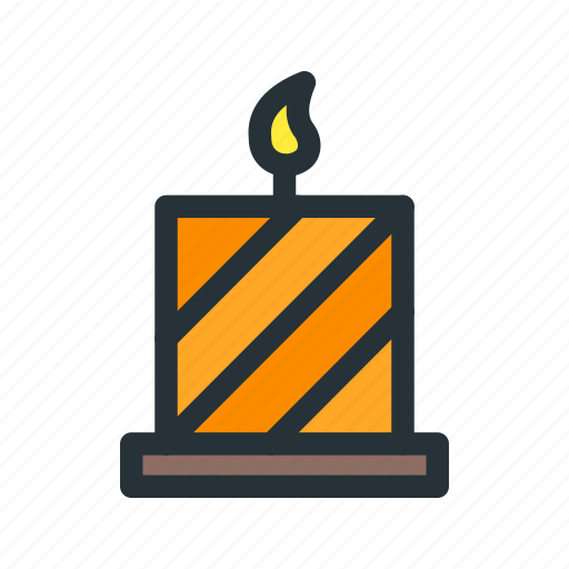 candle, celebration, christmas, decoration, xmas icon
