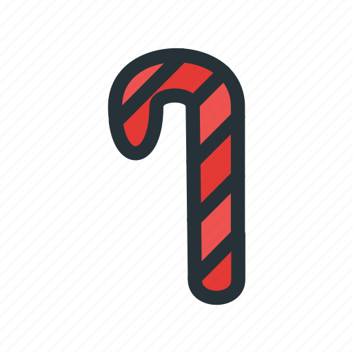 candy, cane, celebration, christmas, decoration, xmas icon