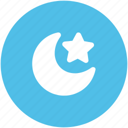 moon, night, nighttime, sky, space, star, weather icon
