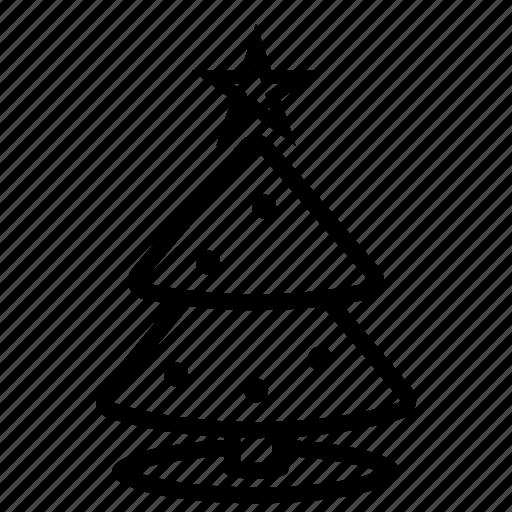 christmas, christmas tree, tree icon