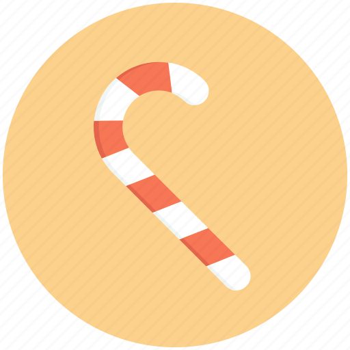 candy, cane, christmas, decoration, ornament icon