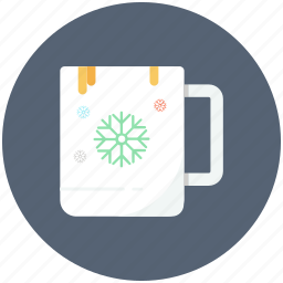 coffee, cup, hot drink, tea, winter icon