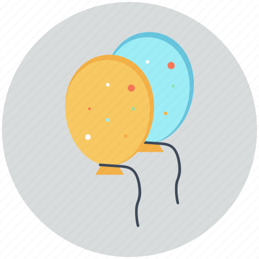 baloon, fun, inflatable, party icon icon