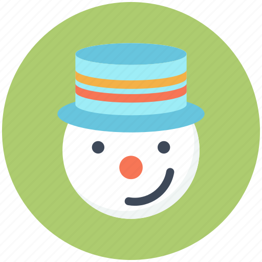 christmas, hat, snow, snowman, winter, xmas icon