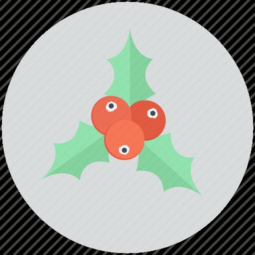 christmas, decoration, mistletoe, ornament icon