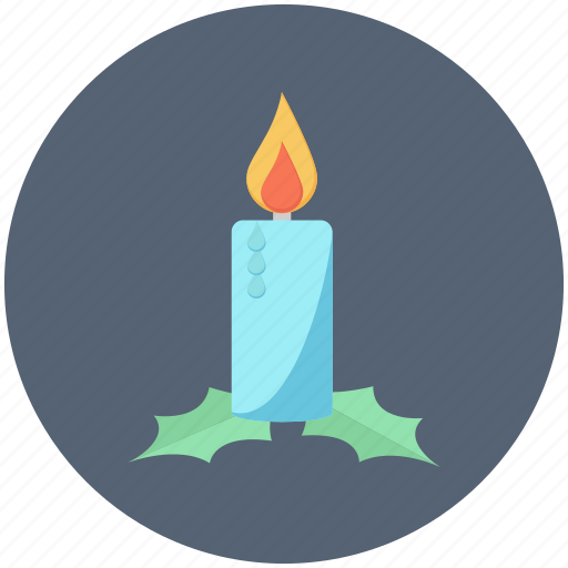 candle, christmas, decoration, light, ornament icon
