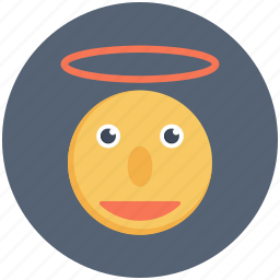 angel, messenger, peace, snow icon