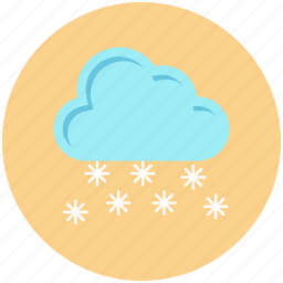 cloud, cold, snow, winter icon