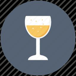 alcohol, glasses, juice, orange, party, toast, wine icon