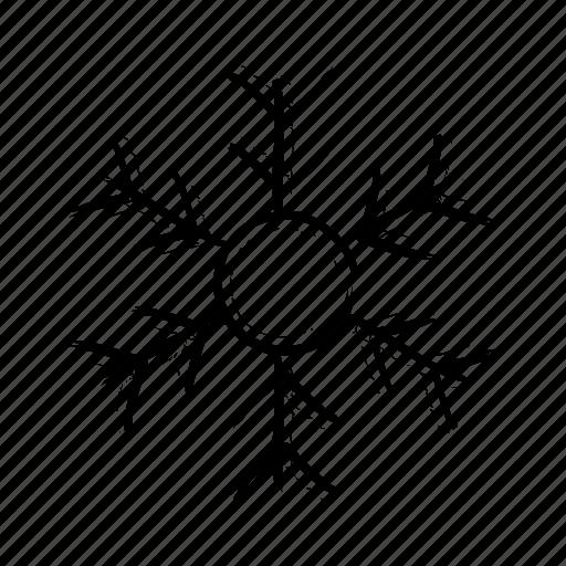 christmas, cold, snow, snowflake, winter icon