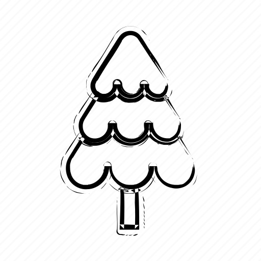 black, christmas, nature, pine, pines, tree, trees, xmas icon