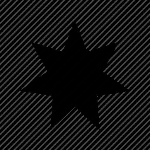 bursting star, star, star shape, starburst, sticker icon