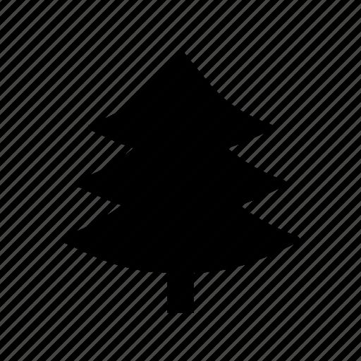 evergreen tree, fir tree, pinetree, tree, true pine icon