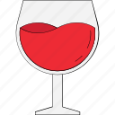 alcohol, beverage, drink, glass, martini, wine, wine glass icon