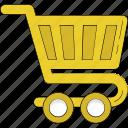 christmas shopping, commerce, hand truck, shopping, shopping cart, shopping trolley