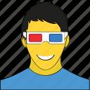 avatar, boy, male, person, profile, user, young boy icon