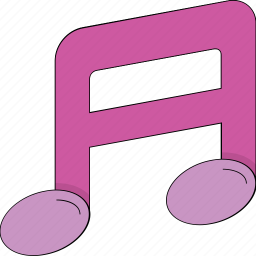 harmony, melody, musical note, musical sign, song icon
