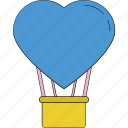 balloon, birthday balloon, decoration balloon, heart balloon, party balloon, party decorations icon