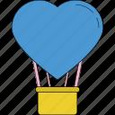 balloon, birthday balloon, decoration balloon, heart balloon, party balloon, party decorations icon