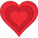 heart, like, love, love symbol, valentine heart icon