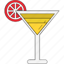 beverage, celebration, cocktail, lemonade, margarita, summer drink icon
