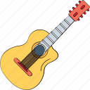 cello, fiddle, frets, guitar, music instrument, ukulele icon