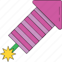dynamite, explosion, firework, firework bomb, firework rocket icon