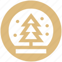 christmas, easter, globe, snow, snowflake, tree, winter icon