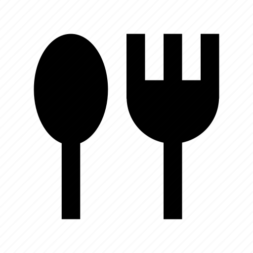 cuisine, dining, fork, restaurant, spoon icon