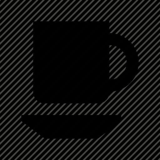 cup, mug, saucer, tea cup, tea mug icon