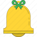 alert, bell, christmas bell, church bell, ring icon