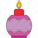 advent candle, candle, candle bauble, candle burning, christmas candle, decoration icon