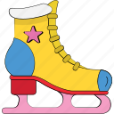 ice skates, ice skating, quad skates, sports, sports equipment