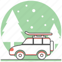car, christmas, enjoy, holiday, new year, tip, travel icon
